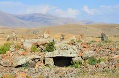 Armenia dolmen w Stonehenge, brązowy wiek Obraz Stock