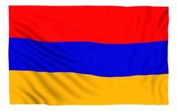 armenia flagę Fotografia Stock