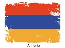Armenia flag Stock Image