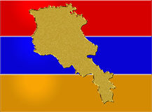 Armenia flag Royalty Free Stock Images