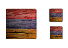 Armenia Flag Buttons Royalty Free Stock Photos