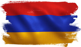 Armenia Flag Royalty Free Stock Photography