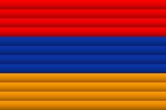 Armenia Flag. Vector Illustration. vector illustration