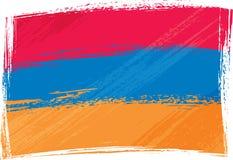 armenia flagi crunch Zdjęcia Stock