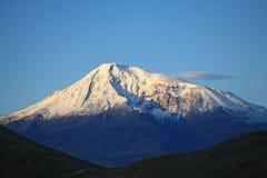Armenia. Greate Ararat. Mañana foto de archivo libre de regalías