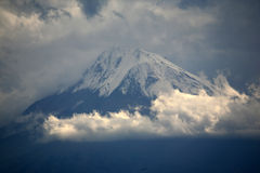 Armenia. Greater Ararat from Khor Virap monastery Stock Photography