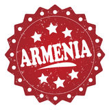 Armenia grunge znaczek Obraz Royalty Free