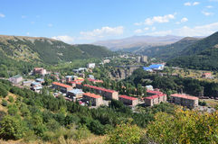 Armenia, Jermuk resort town Royalty Free Stock Image