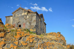 Armenia, khachkars near the ancient monastery of Hayravank Stock Image