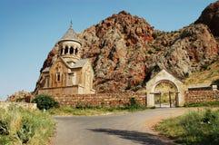 armenia klosternoravank Arkivbild