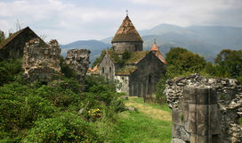 armenia klostersanahin Arkivfoto
