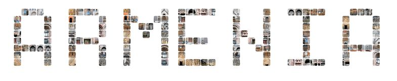 Armenia logo Stock Images