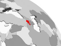 armenia mapa ilustracji