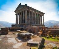 Armenia. Monastery Garni. Stock Photos