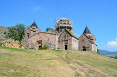 Armenia, monastery Goshavank in the mountains Royalty Free Stock Image