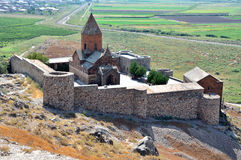 Armenia, the monastery of Khor Virap Royalty Free Stock Photography
