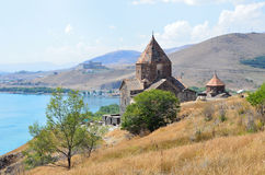 Armenia, monastery of the 1st century Sevanavank, Surb Arakelots Stock Photo