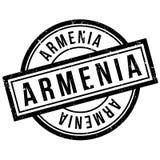 Armenia pieczątka Zdjęcia Stock