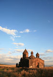 Armenia. Sagmosavank  high sky Stock Images