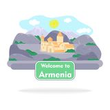 The armenia sign Royalty Free Stock Images