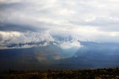 Armenia. Sunspot on the hillside of Greater Ararat Stock Photography