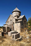 Armenia, Tsahats-kar monaster w górach kościół 10 wiek Fotografia Stock