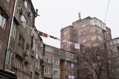 armenia ulica Yerevan Obraz Stock
