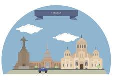 armenia Yerevan royalty ilustracja