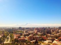 Armenia, Yerevan, Ararat mountain. October 27.2018. View from Armenia side stock photos