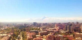 Armenia, Yerevan, Ararat mountain. October 27.2018. View from Armenia side royalty free stock photo