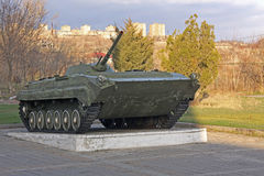 Armenia. Yerevan. The exhibits of the museum of the Ministry Defence. T-34 Stock Image