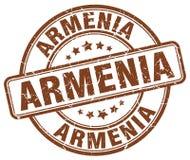Armenia znaczek ilustracja wektor