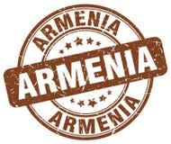 Armenia znaczek royalty ilustracja