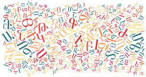 Armenian alphabet texture background. High resolution vector illustration