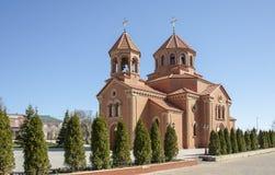 Armenian Apostolic Church  in Odessa, Ukraine. The Armenian Apostolic Church is the national church of the Armenian people. Part of Oriental Orthodoxy, it is one Royalty Free Stock Photos