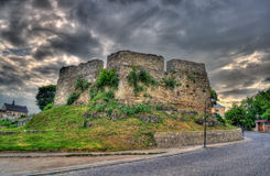 Armenian bastion in Kamianets-Podilskyi, Ukraine Stock Photo