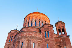 Armenian cathedral Stock Image