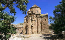 Armenian Cathedral of The Holy Cross in Ahdamar Island Stock Photos