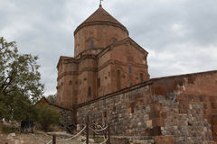 Armenian Cathedral of the Holy Cross on Akdamar Island. Royalty Free Stock Photography