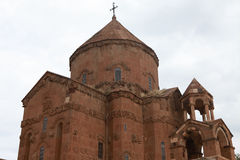 Armenian Cathedral of the Holy Cross on Akdamar Island. Royalty Free Stock Photos