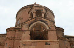 Armenian Cathedral of the Holy Cross on Akdamar Island. Royalty Free Stock Photo