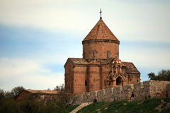 Armenian Cathedral in Van City,Turkey. Stock Photos