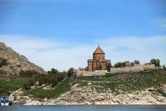 Armenian Cathedral in Van City,Turkey. Royalty Free Stock Photo