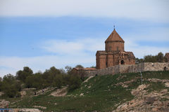 Armenian Cathedral in Van City,Turkey. Stock Image