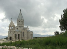 Armenian church. Stock Images