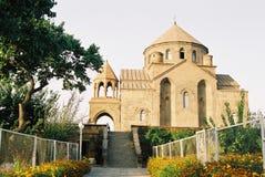 Armenian church. Armenian church,Caucasus,summer day Royalty Free Stock Images