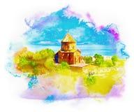 Armenian church Akdamar in Anatolia – Van, Turkey Stock Images