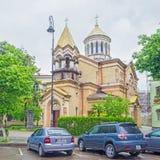 The Armenian Church in Batumi Stock Photo