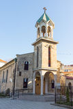 Armenian church in the center of Burgas, Bulgaria Royalty Free Stock Photo