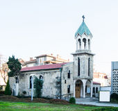 The Armenian church in the city of Burgas, Bulgaria Royalty Free Stock Photo